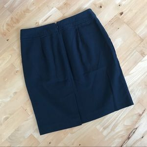 Banana Republic blue/black pencil skirt